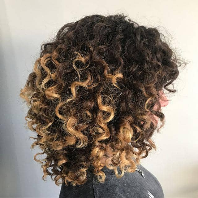 50 Best And Flattering Brown Hair With Blonde Highlights Pertaining To Current Short Loose Curls Hairstyles With Subtle Ashy Highlights (View 12 of 20)