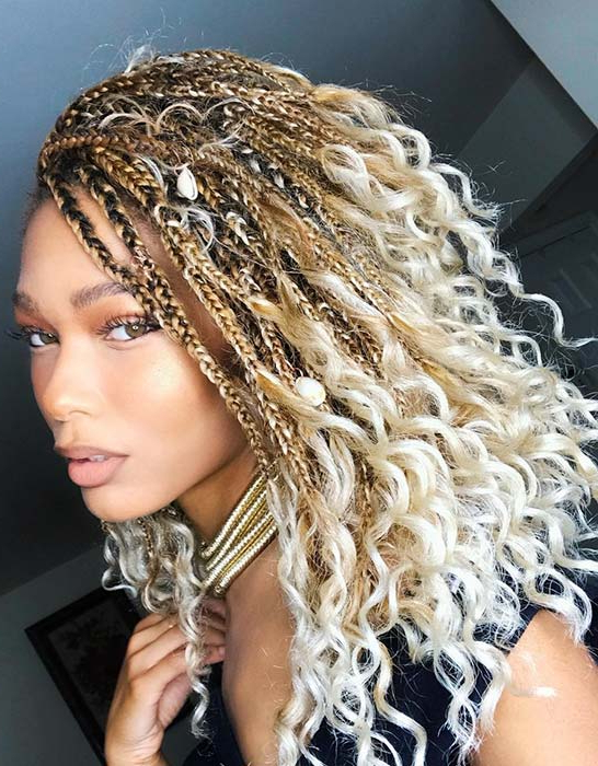 51 Goddess Braids Hairstyles For Black Women (View 9 of 20)
