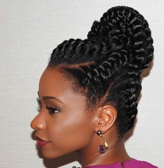 51 Goddess Braids Hairstyles For Black Women (View 10 of 20)