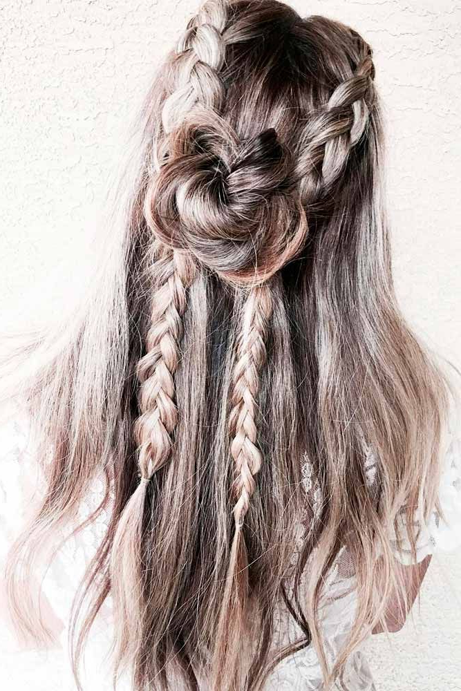 60 Best Bohemian Hairstyles That Turn Heads (with Images Throughout Best And Newest Boho Rose Braids Hairstyles (View 3 of 20)