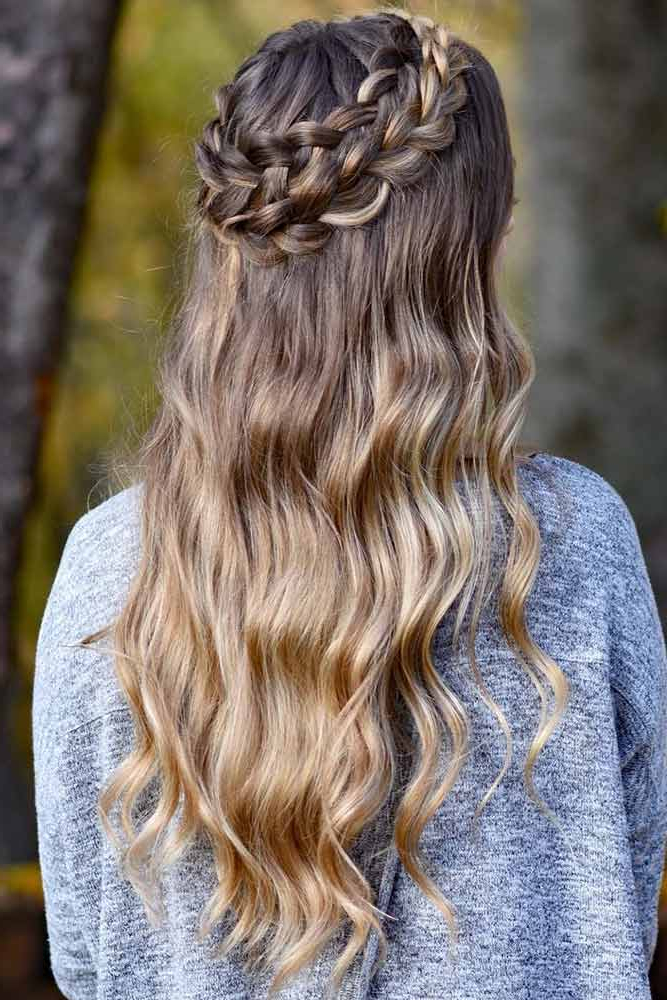 70+ Crown Braid Styling Ideas (View 9 of 20)