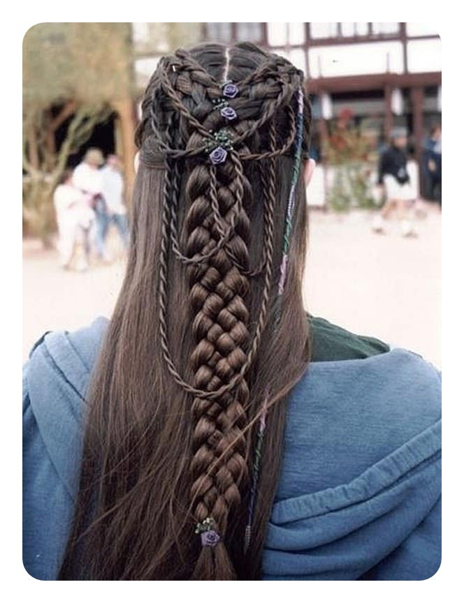78 Unique And Fashionable Rope Braid Hairstyles Intended For Fashionable Rope Half Braid Hairstyles (View 18 of 20)