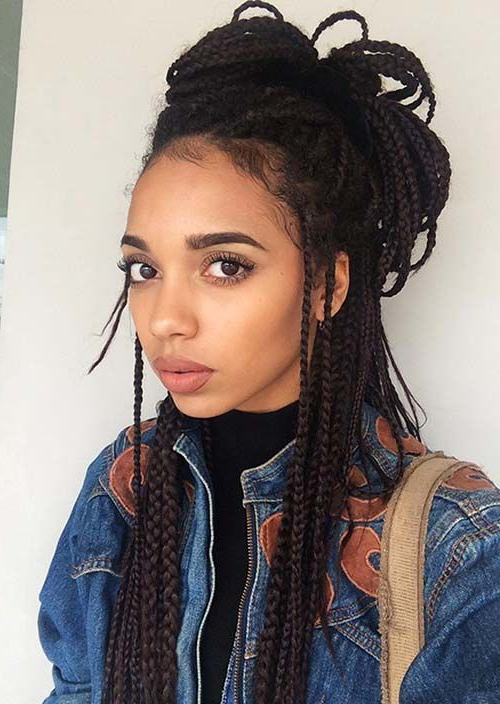 8 Best Boho Braids W/ An Earthy Vibe Images On Pinterest Intended For Current Boho Braided Half Do Hairstyles (View 9 of 20)
