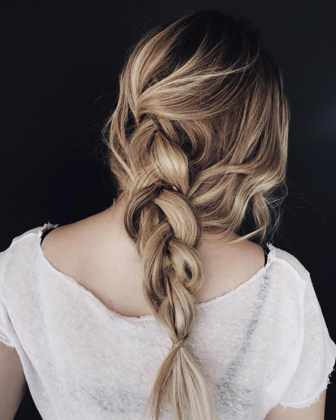 Featured Photo of Messy Elegant Braid Hairstyles