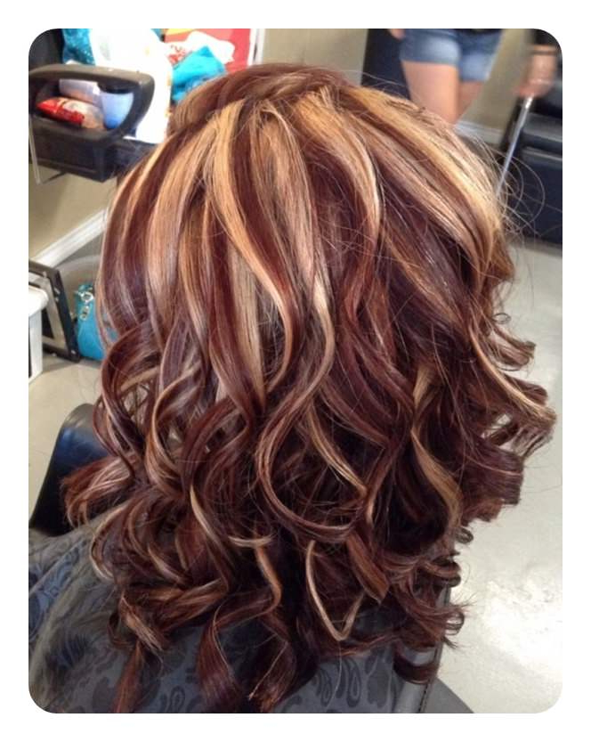 81 Red Hair With Highlights Ideas That You Will Love Throughout Fashionable Red Highlights For Type 3c Hairstyles (View 17 of 20)