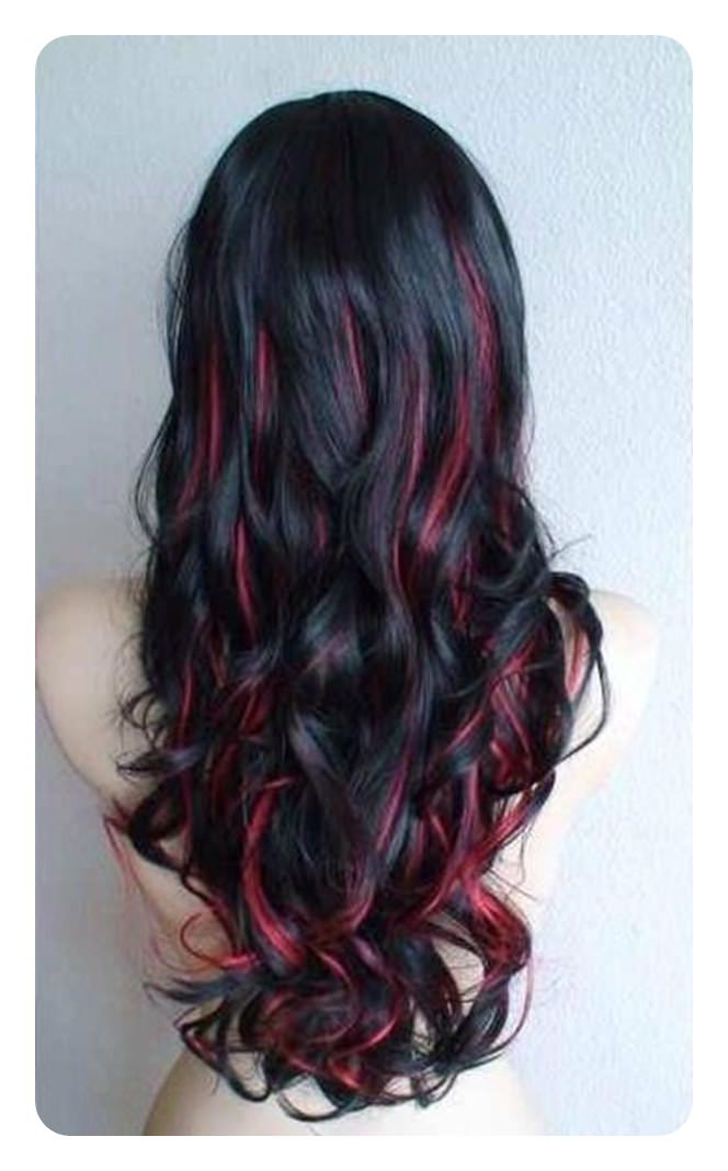 Featured Photo of Red Highlights For Type 3C Hairstyles