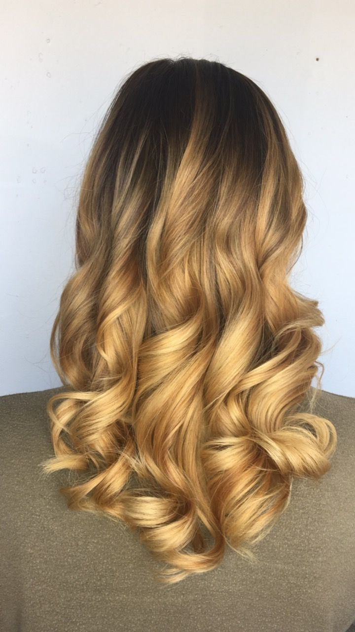 Balayage, Hand Painting, Blonde Hair, Golden Hair (View 6 of 20)