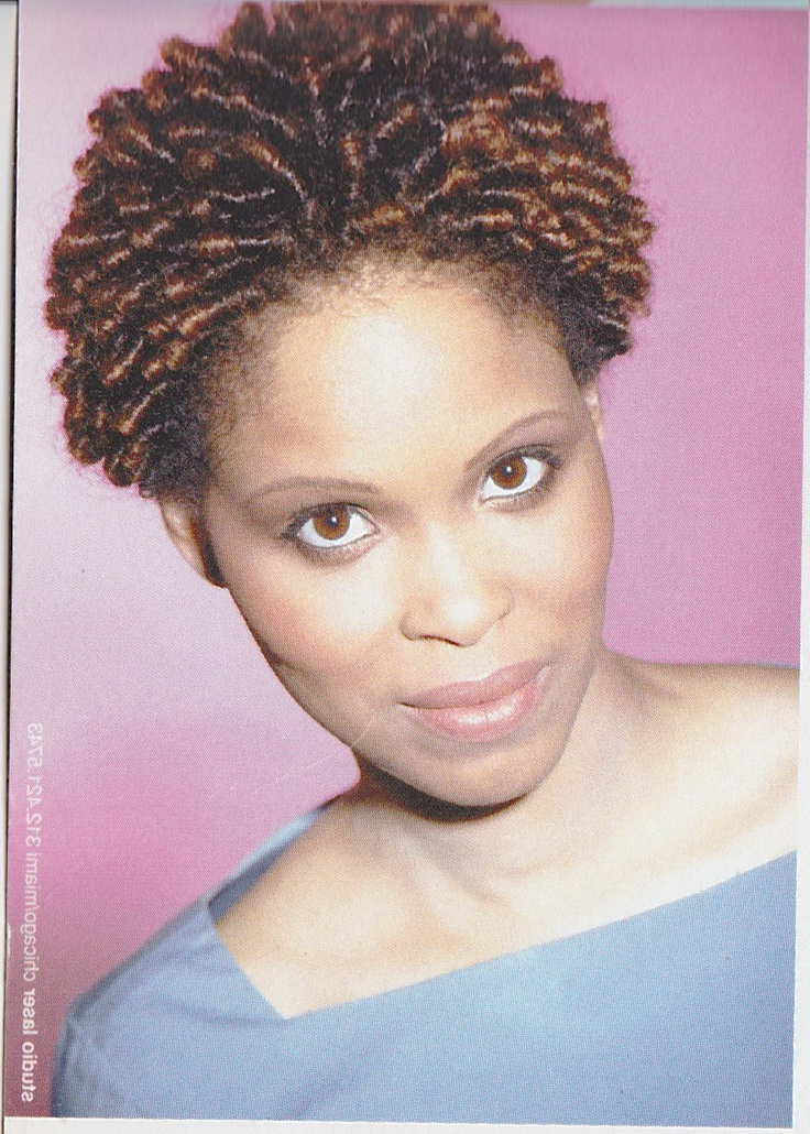 Beautiful Natural With Regard To Fashionable Dark Red Highlighted Finger Coils Hairstyles (View 6 of 20)
