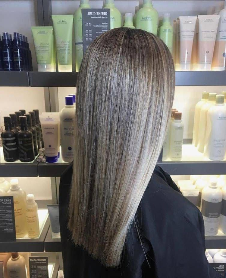 Best And Newest Blonde Balayage On Long Voluminous Hairstyles With These Blonde Straight Balayage Really Are Fab! # (View 11 of 20)