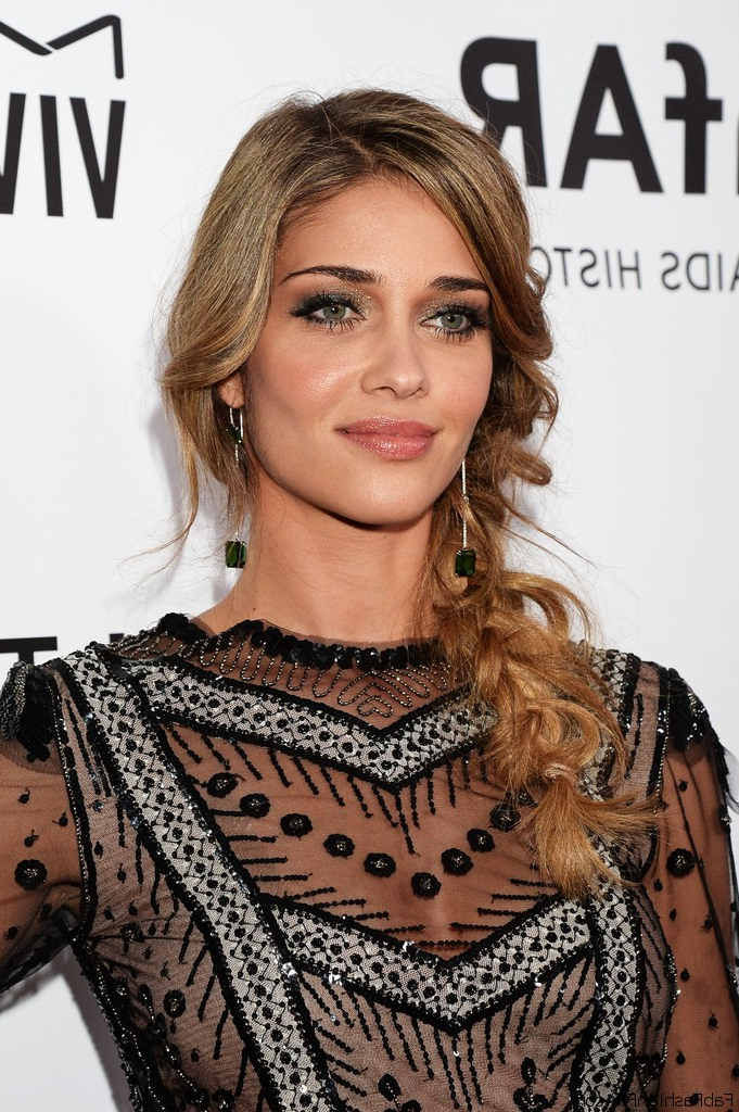 Best And Newest Loose Pancaked Side Braid Hairstyles Within Hairstyle Trend: Loose Side Braid – Fashionsy (View 11 of 20)