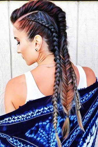 Best And Newest Mohawk French Braid Hairstyles With Regard To 40 Beautiful Mohawk Braid Hairstyles For Women (View 13 of 20)