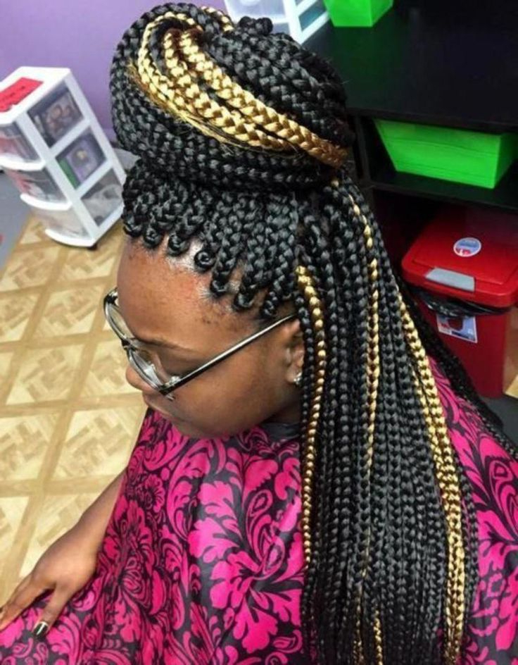 Big Box Regarding Most Current Braided Top Knot Hairstyles (View 17 of 20)