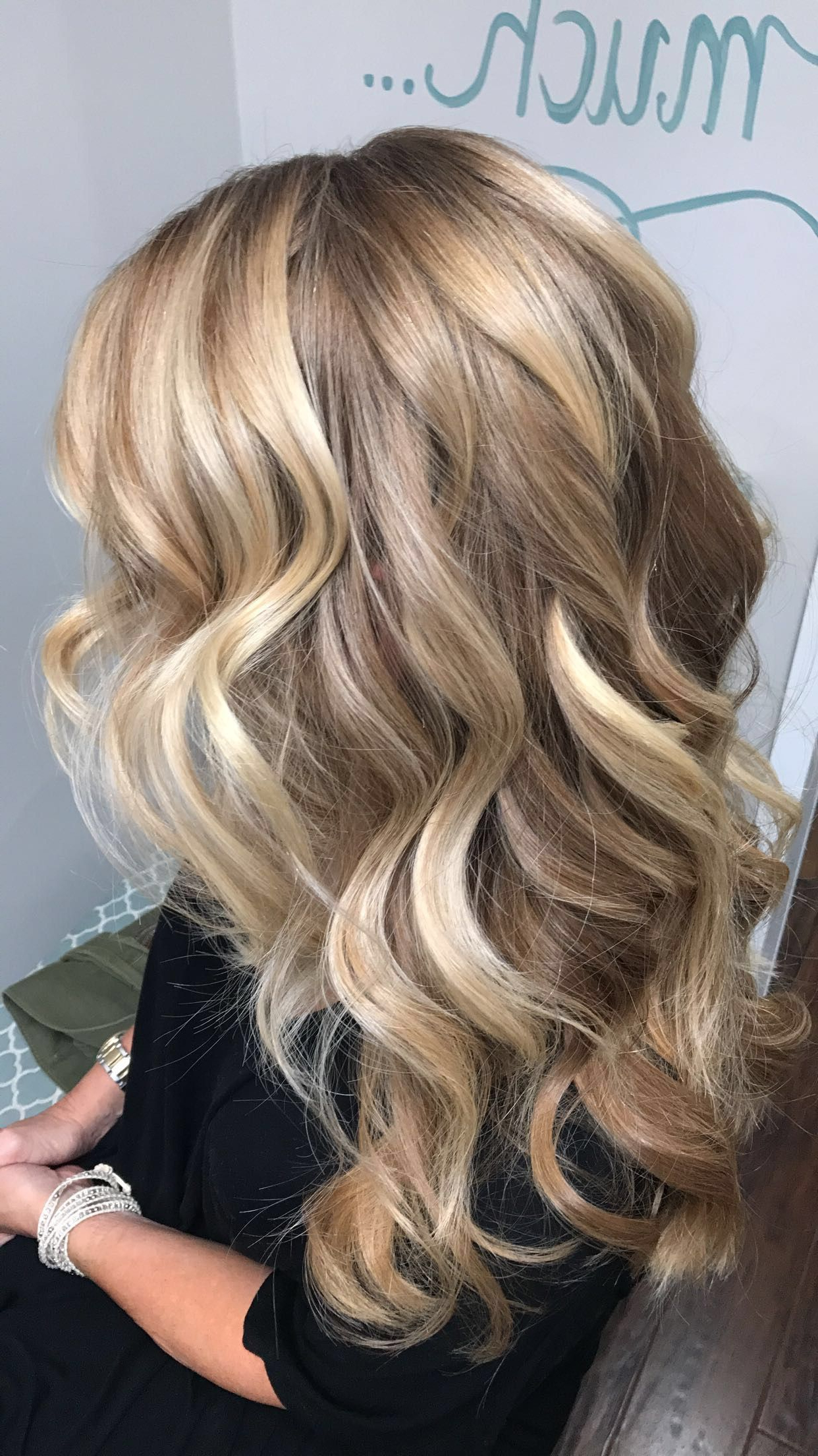 Blonde Balayage, Long Hair Styles, Balayage For Most Current Golden Blonde Balayage On Long Curls Hairstyles (View 2 of 20)