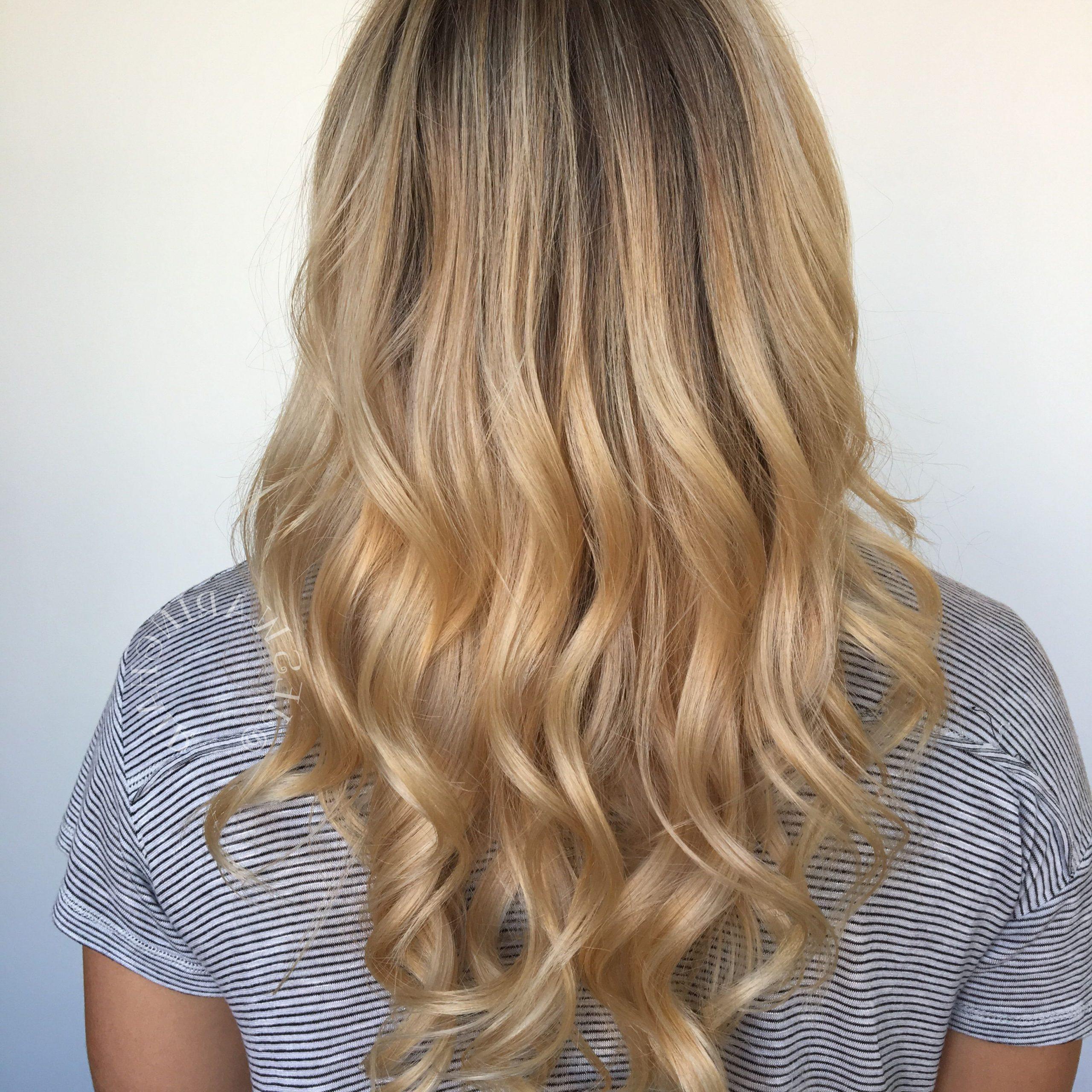 Blonde Balayage, Long Hair Styles (View 13 of 20)