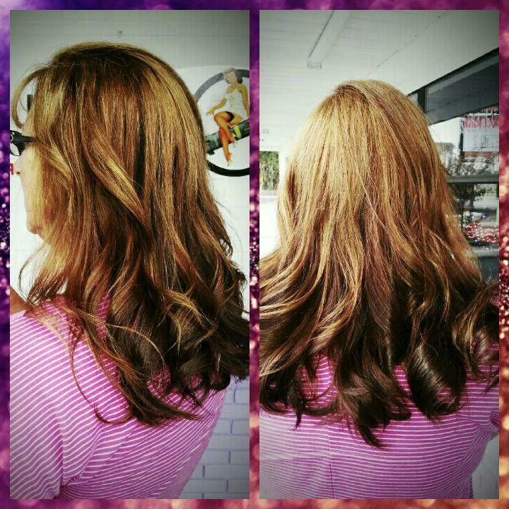 Blonde Balayage With Recent Golden Blonde Balayage On Long Curls Hairstyles (View 11 of 20)