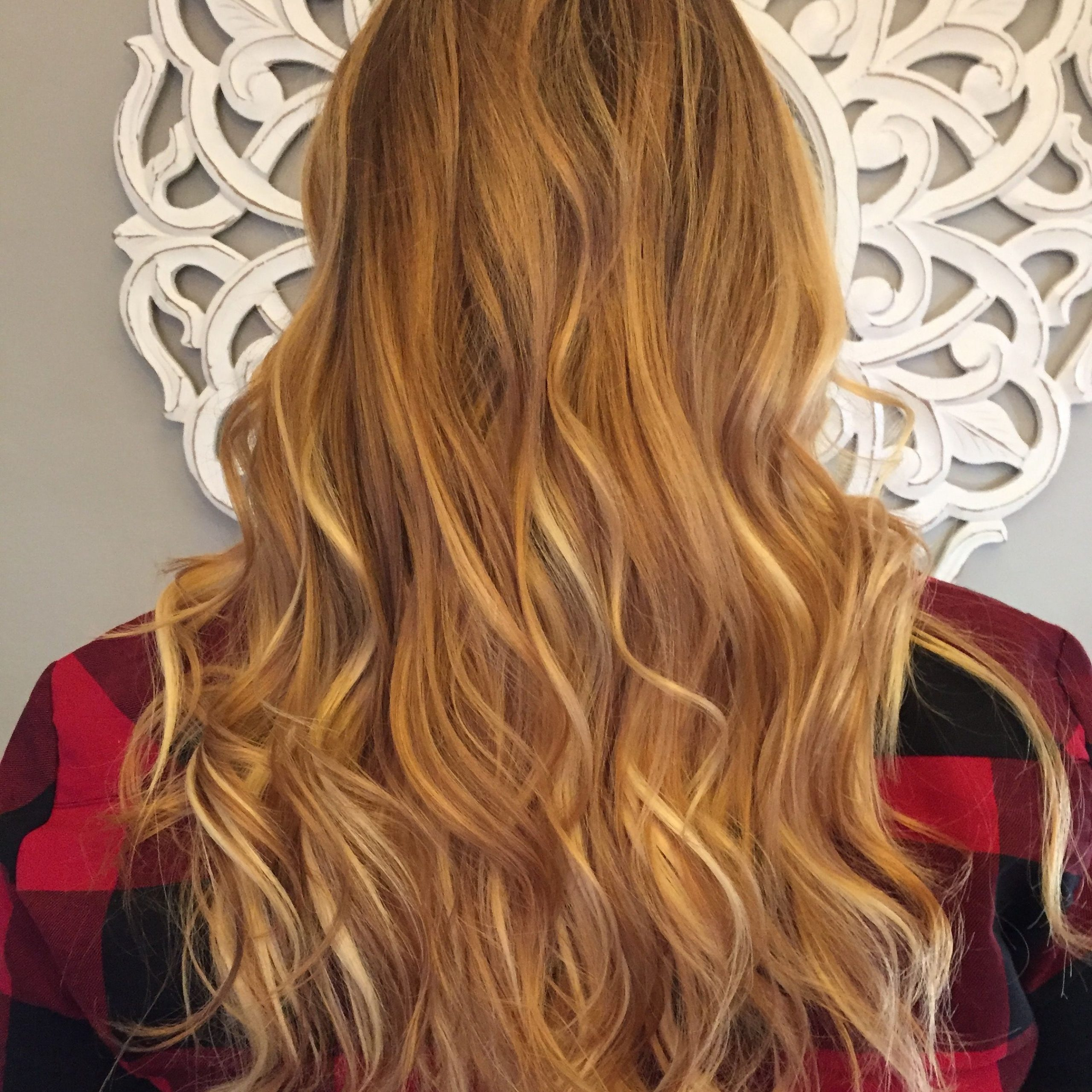 Blonde With Regard To Well Known Golden Blonde Balayage On Long Curls Hairstyles (View 17 of 20)