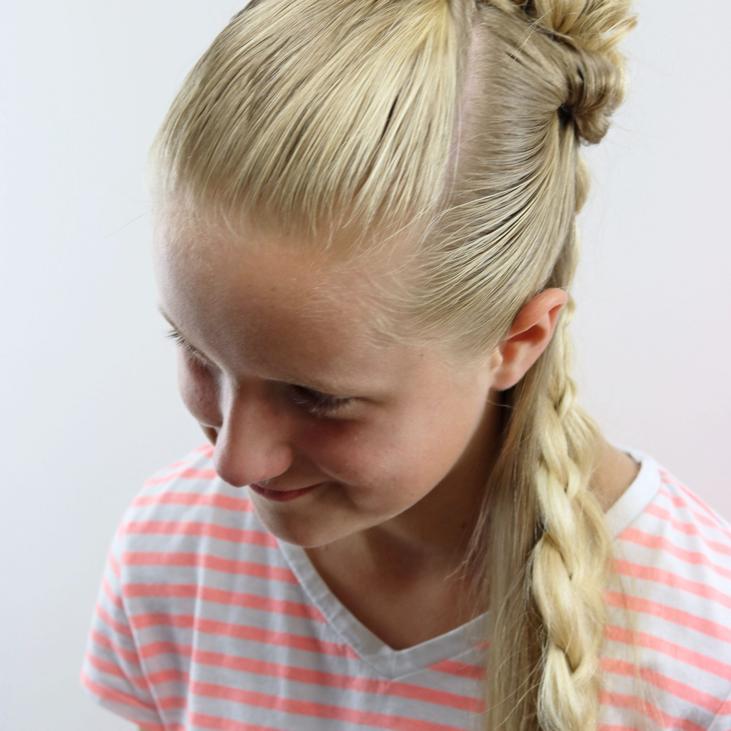Braid & Knot Half Up Combo (View 13 of 20)