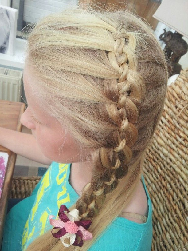 Featured Photo of Four Strand Braid Hairstyles