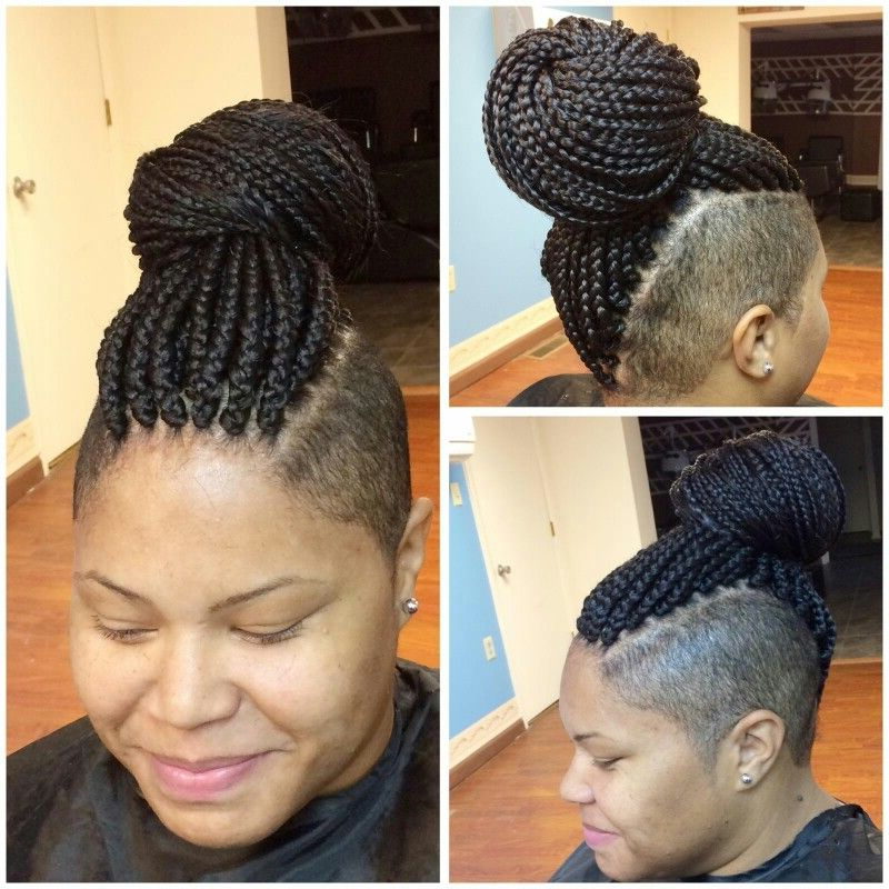 Braided Mohawk Black Hair, Braids With (View 12 of 20)