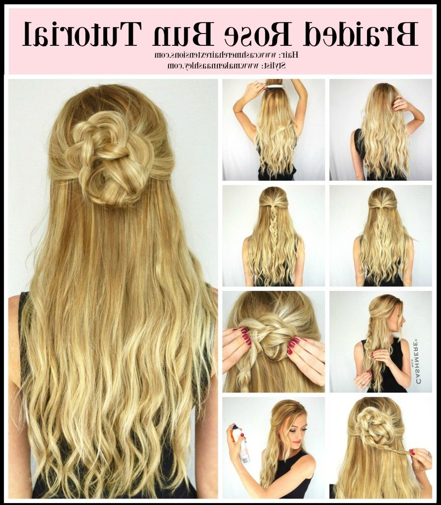 Braided Rose Hairstyle, Braids (View 12 of 20)