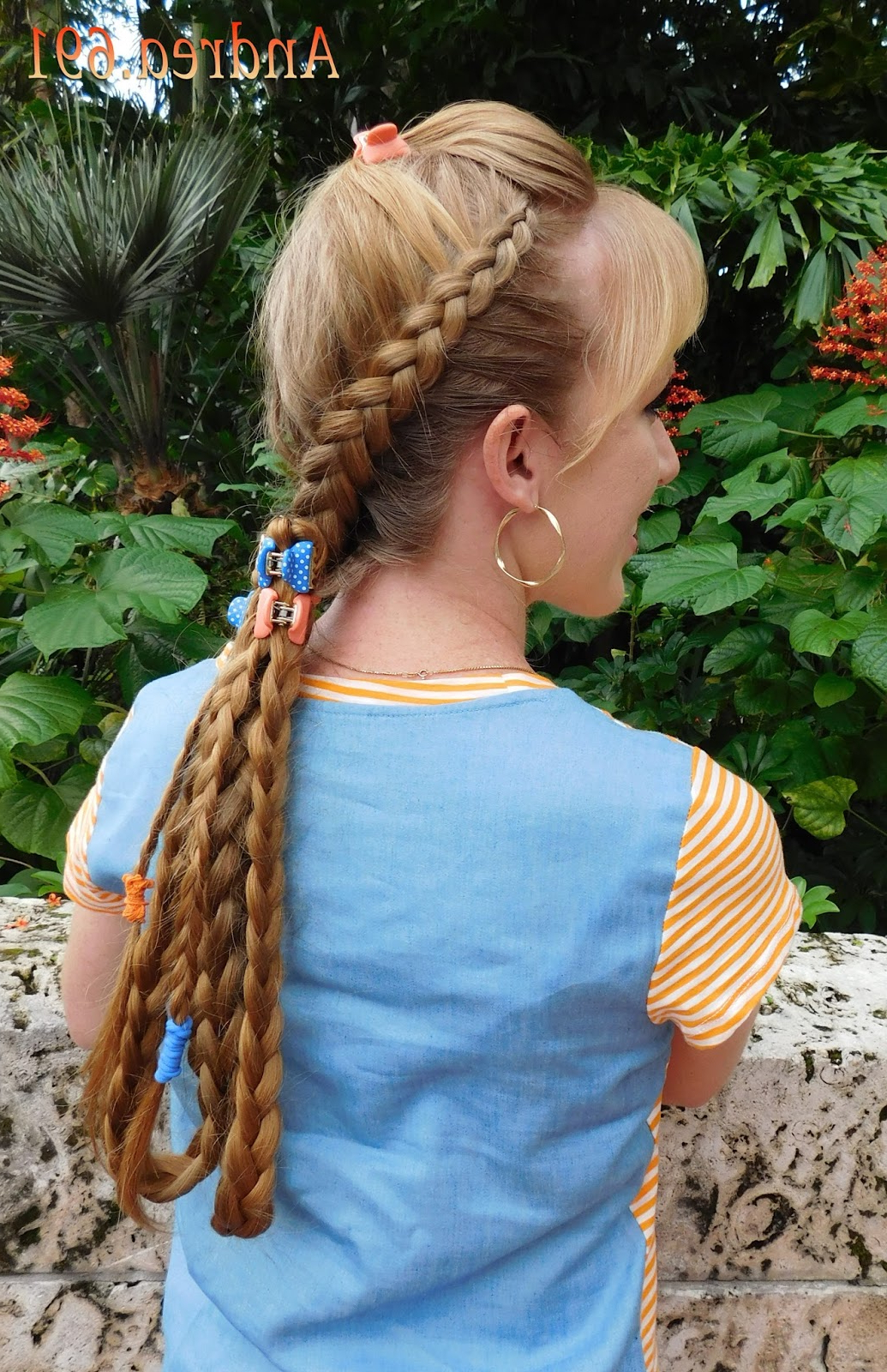 Braids & Hairstyles For Super Long Hair: Double Dutch Braids Intended For Most Current Double Dutch Braids Hairstyles (View 18 of 20)