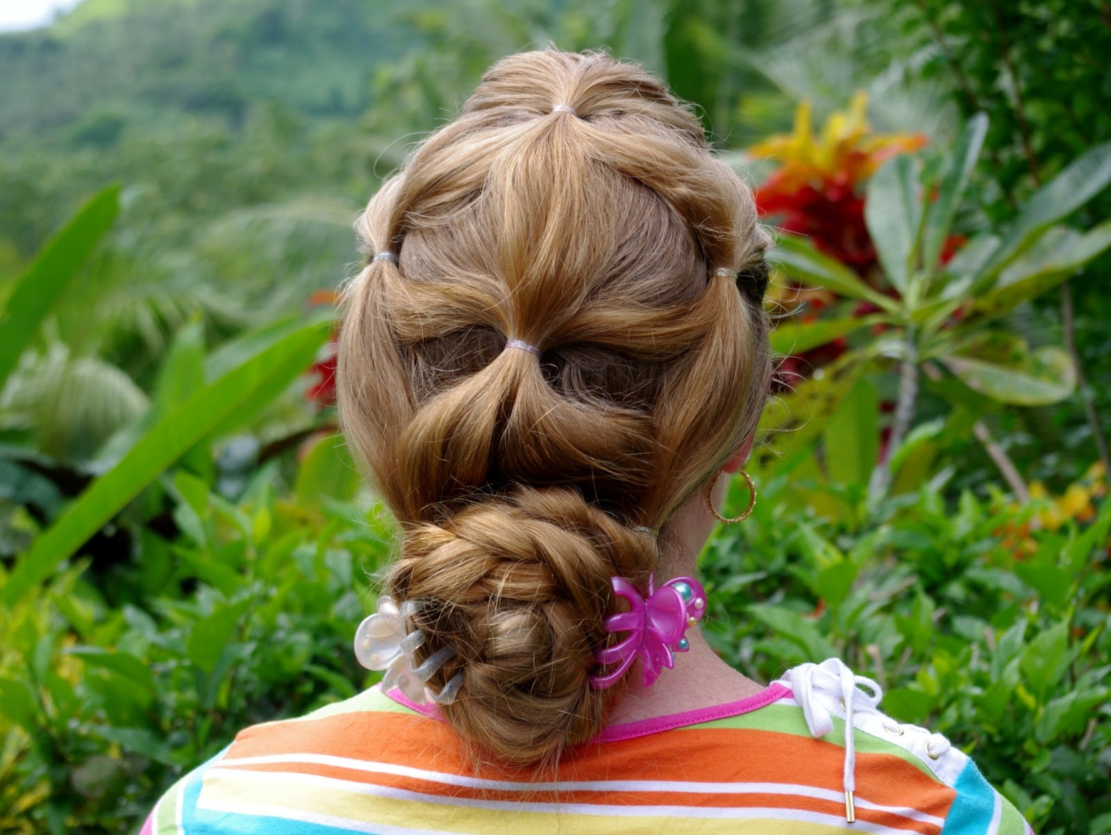 Braids & Hairstyles For Super Long Hair: Fun Ponytail Updo Regarding Well Liked Cinnamon Bun Braided Hairstyles (View 16 of 20)