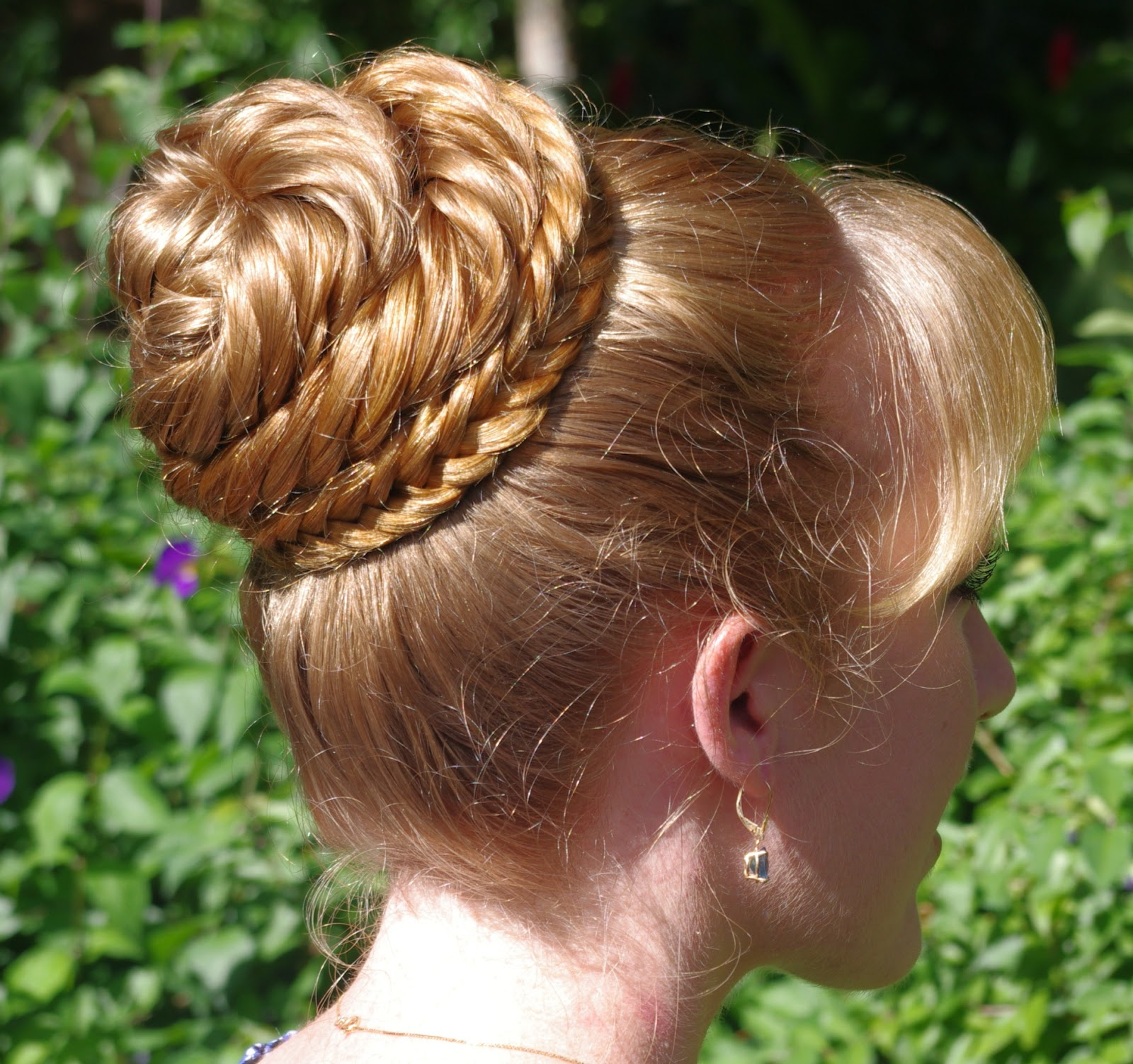 Braids & Hairstyles For Super Long Hair: Herringbone Pertaining To 2020 Cinnamon Bun Braided Hairstyles (View 7 of 20)