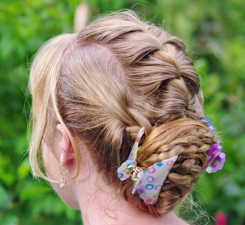 Braids & Hairstyles For Super Long Hair: Loose Braided Updo Intended For Famous Loose Historical Braid Hairstyles (View 15 of 20)