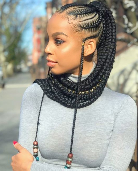 Cool & Jazzy Braided Hairstyles For Black Women (View 12 of 20)