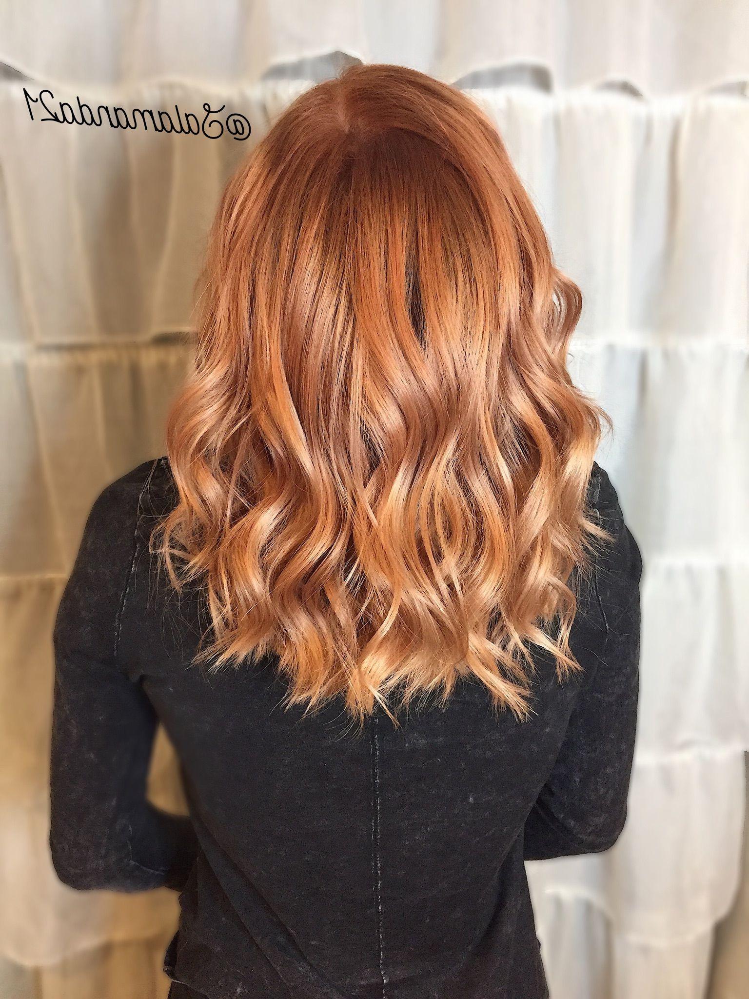 Copper Hair Donemanda Heath @salamanda (View 17 of 20)