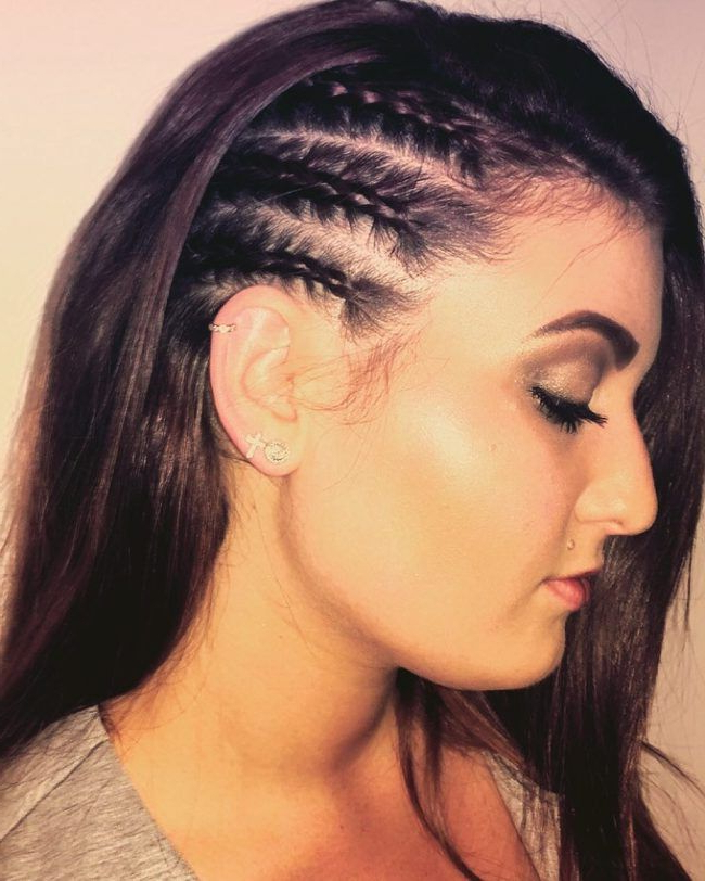 Cornrow Hairstyles (View 16 of 20)