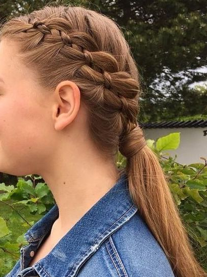 Country Hairstyles Within Best And Newest Four Strand Braid Hairstyles (View 5 of 20)