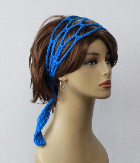 Crochet Headband Women Headband Hippie Head Band Dread Intended For Famous Hippie Braid Headband Hairstyles (View 18 of 20)