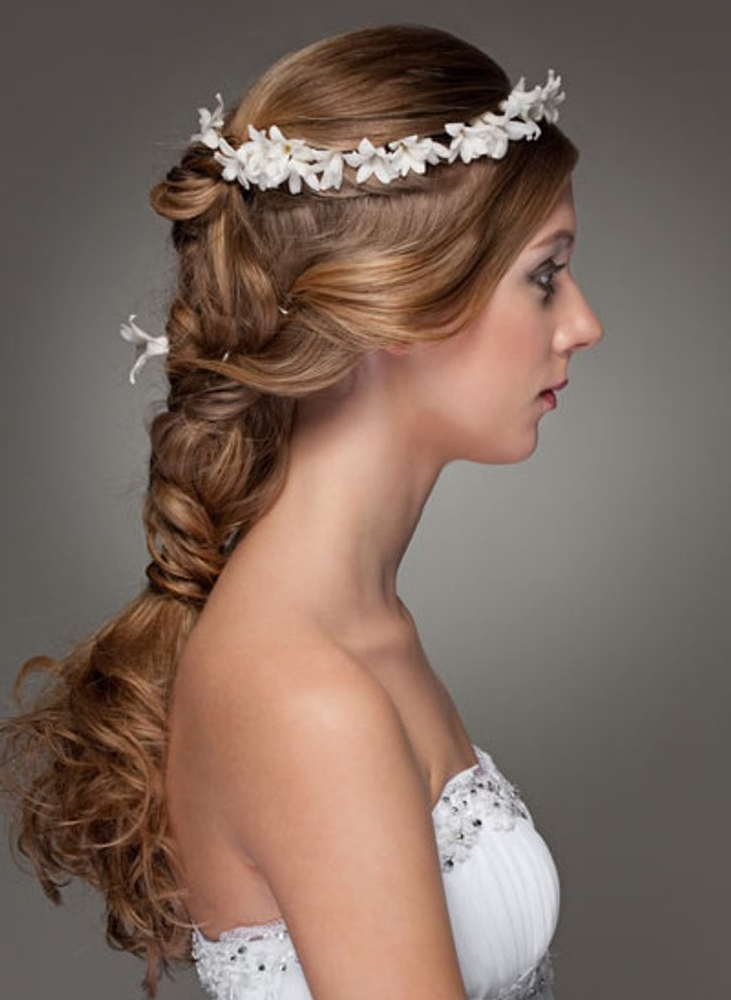 Current Bridal Crown Braid Hairstyles Intended For Braids Wedding Hairstyle For Long Hair 02 – Latest Hair (View 7 of 20)