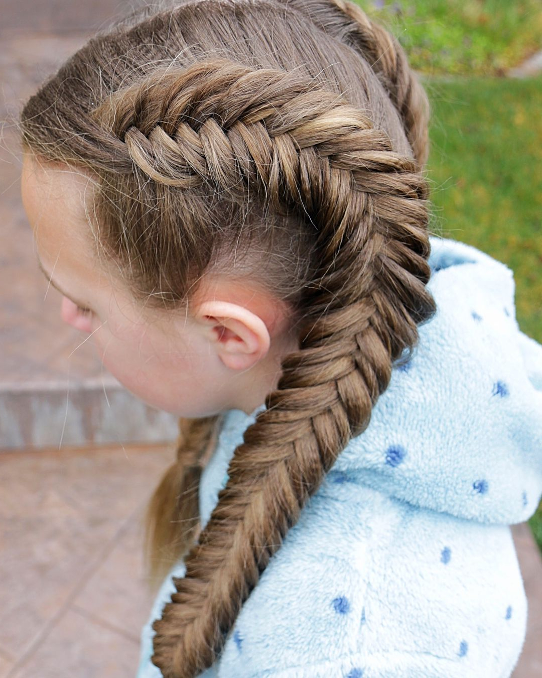 Current Double Dutch Braids Hairstyles In Double Dutch Fishtail Braidserin Balogh # (View 3 of 20)