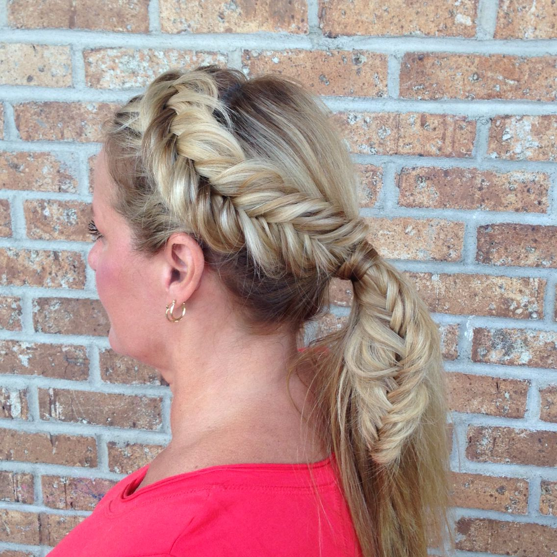 Current Fishtail Updo Braid Hairstyles With Fishtail Braid, Wedding Hair, Braided Updo, Updo, Hair Art (View 7 of 20)