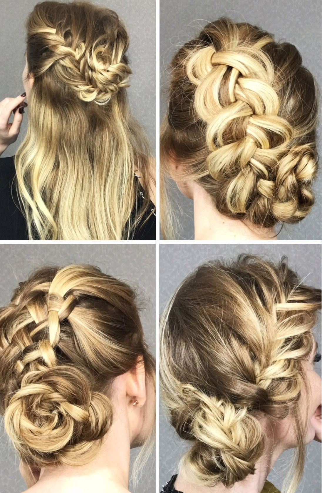 Current Intricate Braided Updo Hairstyles For 4 Cute Braided Hairstyles In Easy Step By Step Tutorials (View 4 of 20)