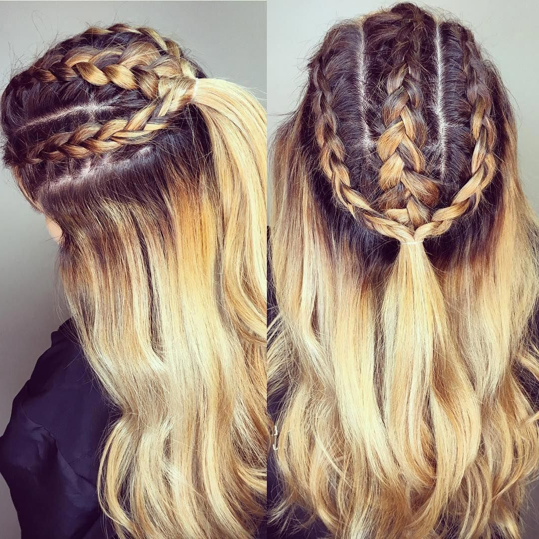 Current Loose Highlighted Half Do Hairstyles Regarding 60 Cute Easy Half Up Half Down Hairstyles – For Wedding (View 7 of 20)