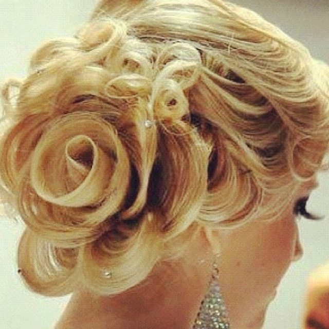 Current Rolled Roses Braids Hairstyles With Regard To 10 Creative And Unique Wedding Hairstyle For Medium Hair (View 14 of 20)