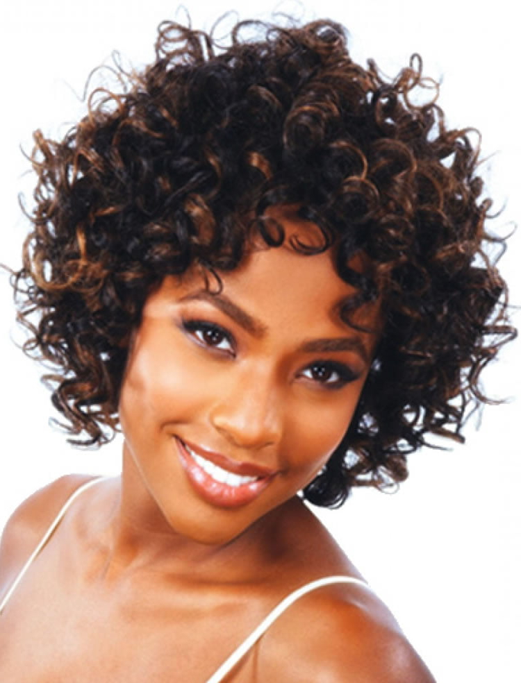 Current Short Loose Curls Hairstyles With Subtle Ashy Highlights Within 30 Most Magnetizing Short Curly Hairstyles For Women To (View 3 of 20)