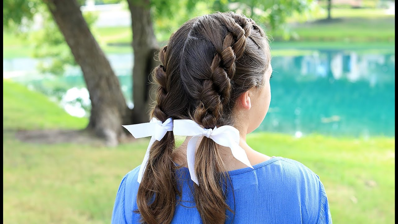 Cute Girls Hairstyles – Youtube With Regard To Most Recent Knotted Braided Updo Hairstyles (View 18 of 20)