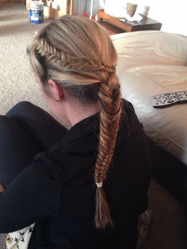 Double Fishtail Braiding (with Images) (View 16 of 20)