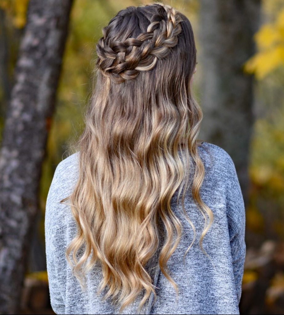 Dutch Halo Braid – Cute Girls Hairstyles Regarding Most Up To Date Dutch Heart Braid Hairstyles (View 14 of 20)