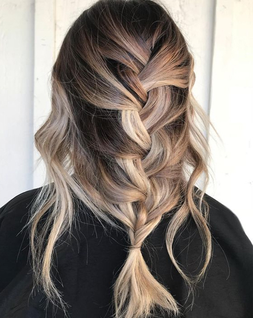 Effortlessly Chic Loose Braided Hairstyles For Long Hair In Recent Loose Double Braids Hairstyles (View 5 of 20)