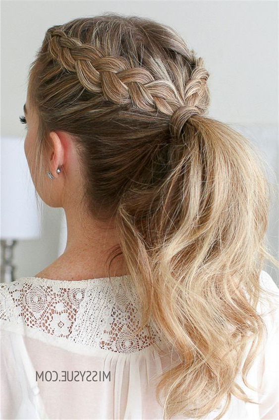 Famous Double Dutch Braids Hairstyles Pertaining To Braided Ponytail Hairstyles You Must Try! (View 17 of 20)