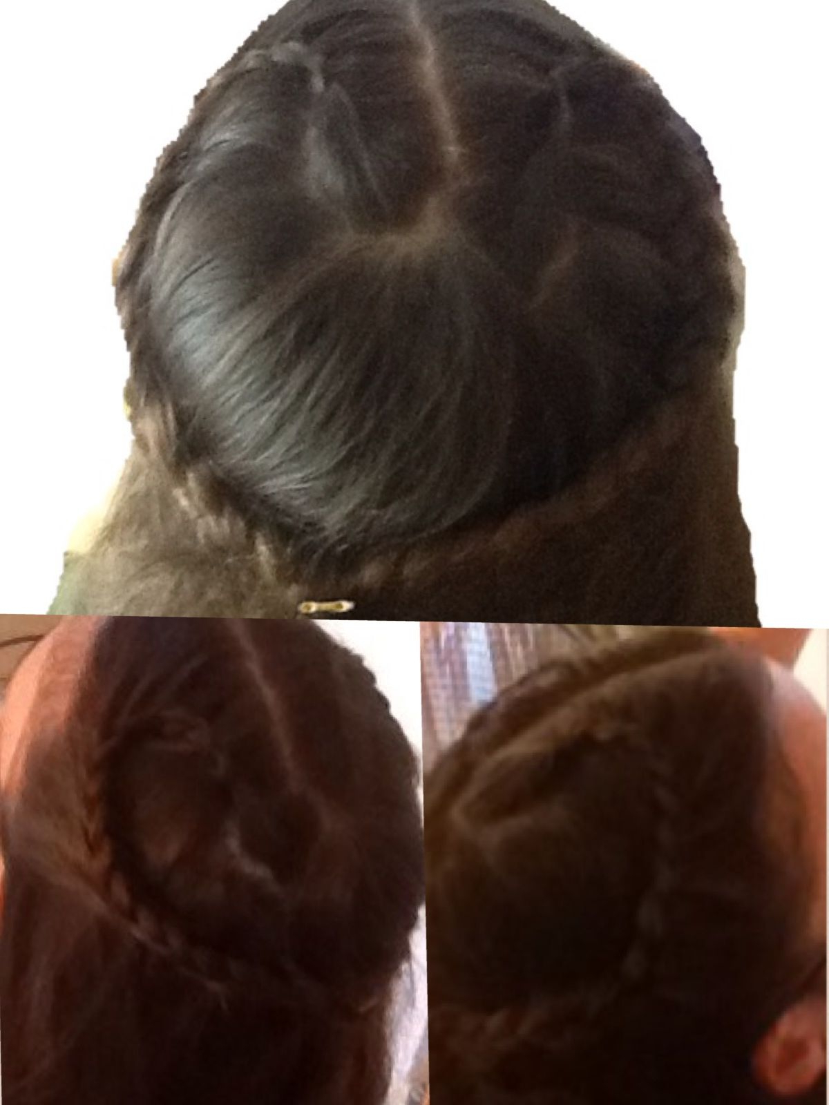 Famous Heart Braids Hairstyles In Heart Braid (View 9 of 20)