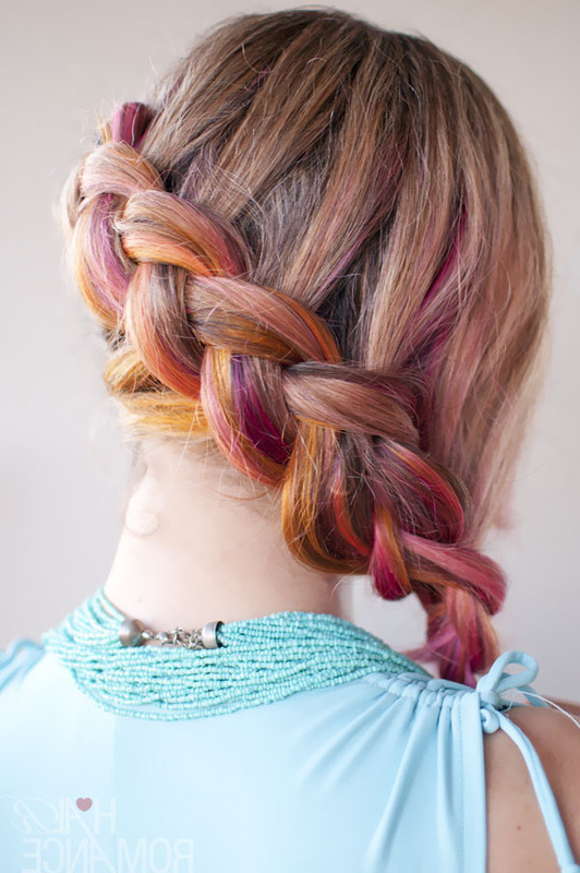 Famous Loose Pancaked Side Braid Hairstyles For Side Braid Hairstyle Tutorial · How To Style A Side Braid (View 16 of 20)