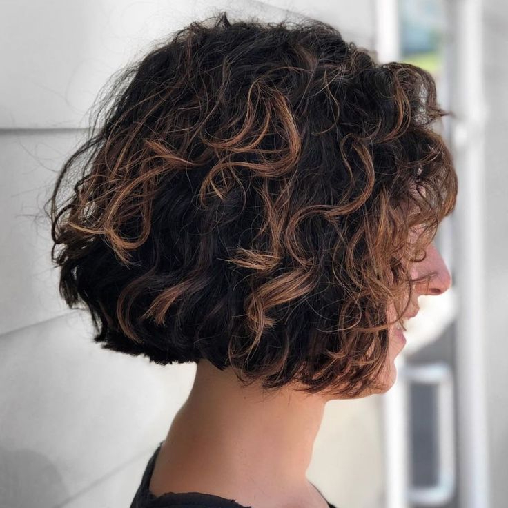 Featured Photo of Medium Length Curls Hairstyles With Caramel Highlights