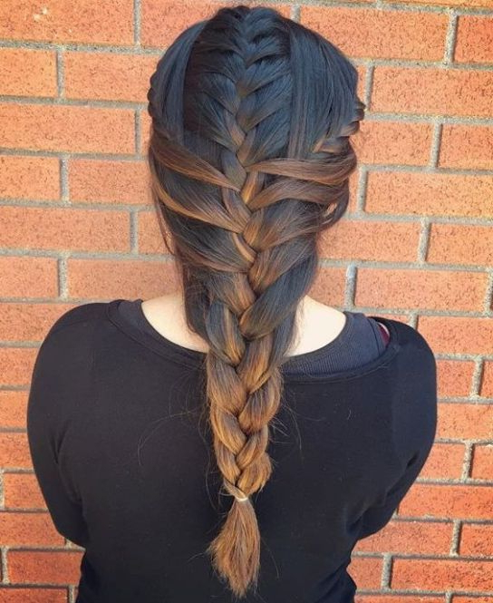 Famous Mermaid Side Braid Hairstyles Pertaining To 20 Magical Ways To Style A Mermaid Braid (View 11 of 20)