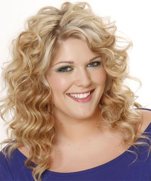 Fashionable Curly Pixie Hairstyles With Light Blonde Highlights Within Long Wavy Light Champagne Blonde Shag Hairstyle With Side (View 4 of 20)